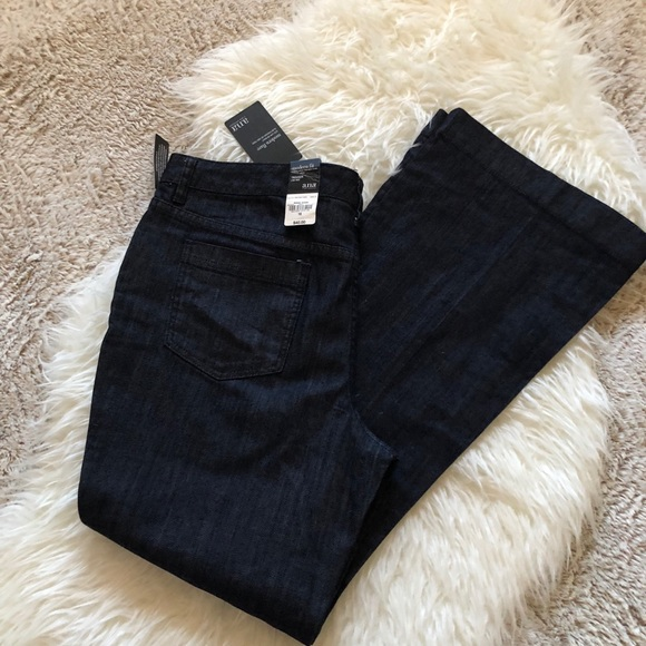 a.n.a Denim - a.n.a size 16 trouser jeans in dark wash